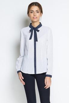 Блузка с длинными рукавами и галстуком-завязкой Marimay